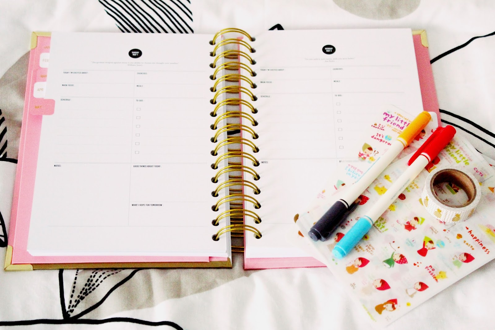 The Happiness Planner | One Month In review