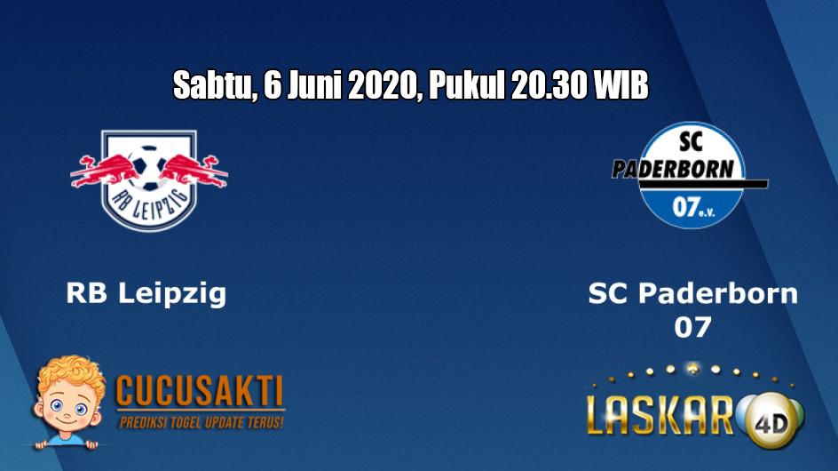 Prediksi RB Leipzig VS Paderborn 07 6 Juni 2020