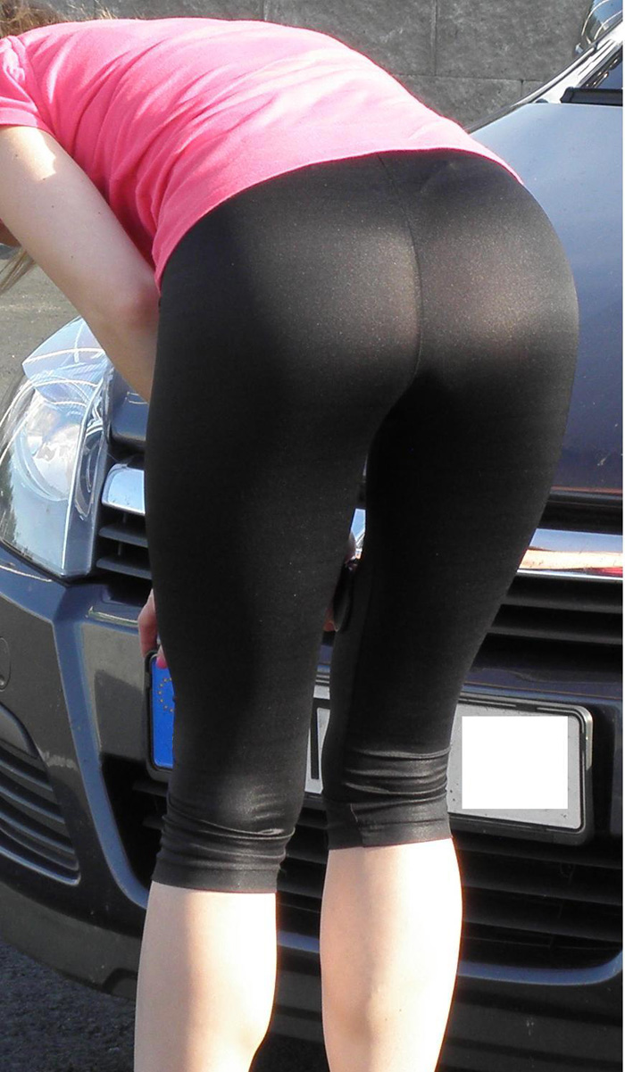 Latinas in yoga pants