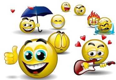 computer solution how to make smileys on facebook