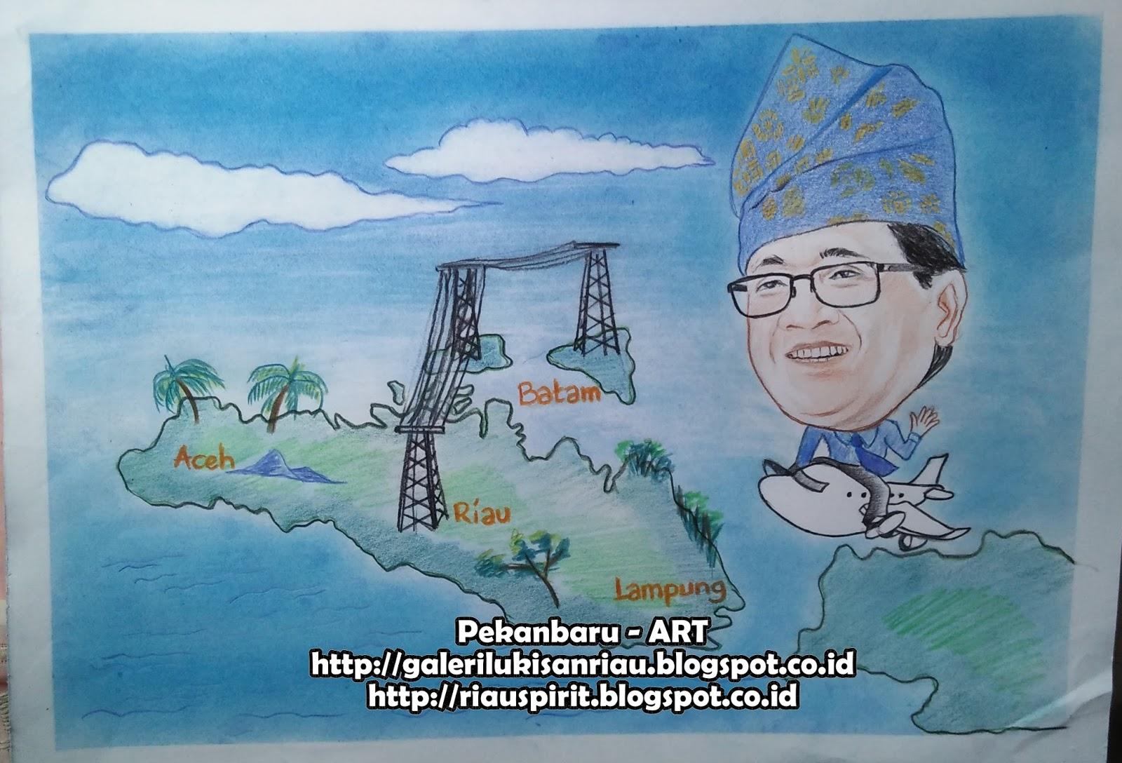 Pekanbaru ART Lukisan Sketsa Wajah Dan Karikatur