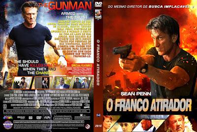 Filme O Franco Atirador (The Gunman) DVD Capa