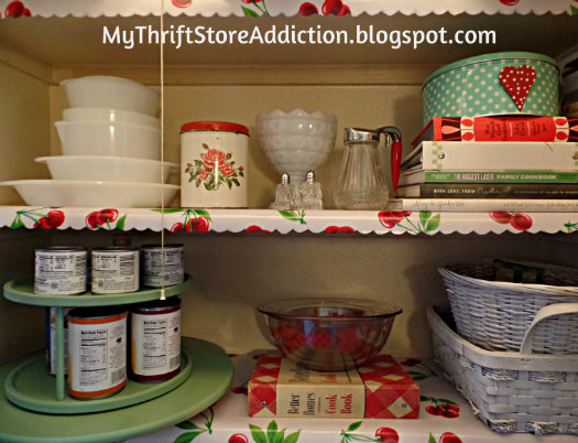 My Thrift Store Addiction Pantry Panache For Pennies