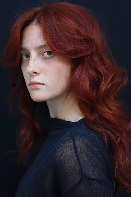 Crinson Red Head Coloring Hair 2018