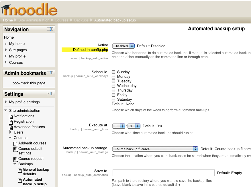 The Open Source eLearning Blog: Why Your Moodle Site is Slow