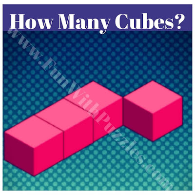 Easy brain teaser to count number of cubes