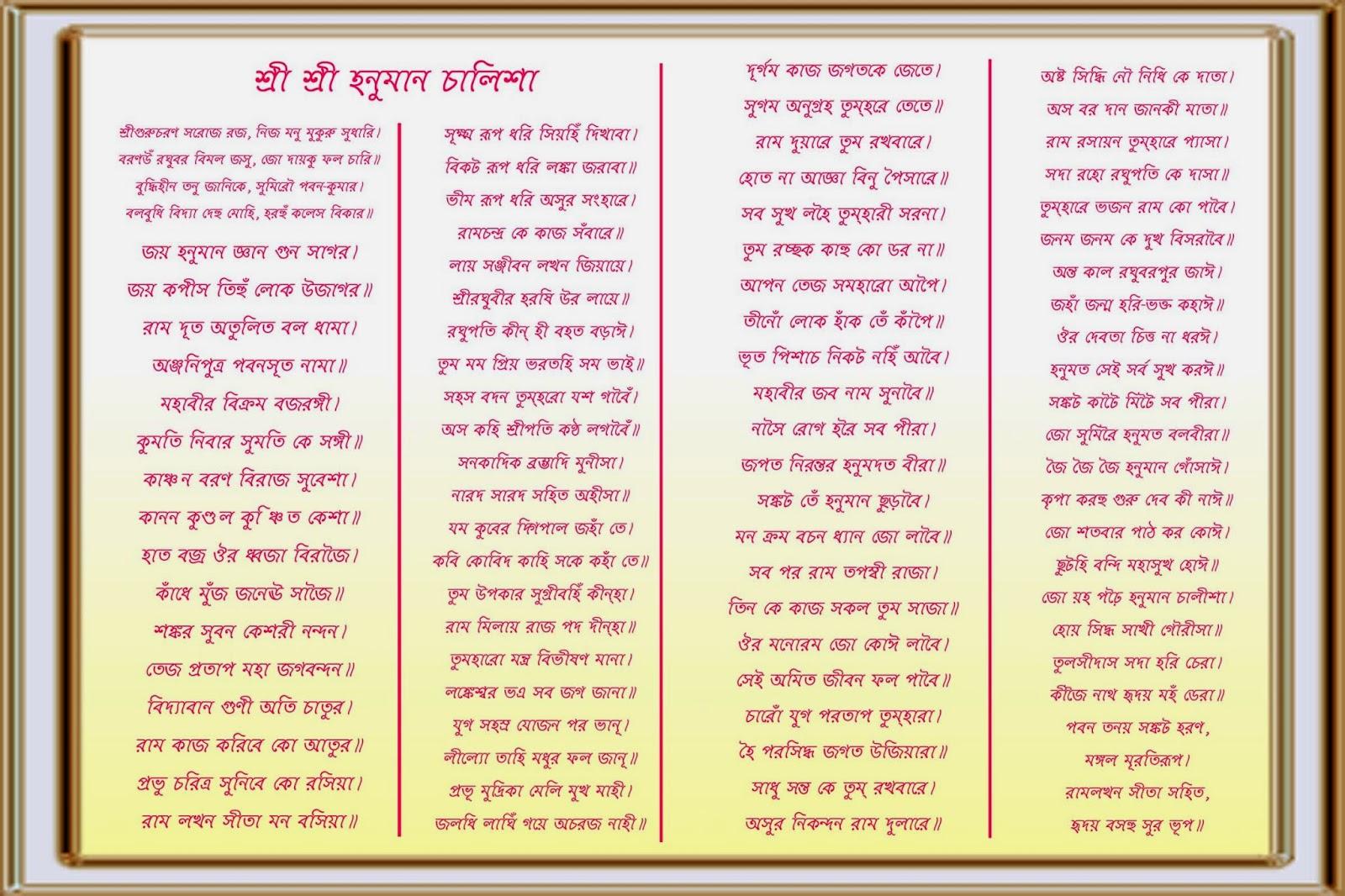 Hanuman Chalisa Telugu Pdf Format