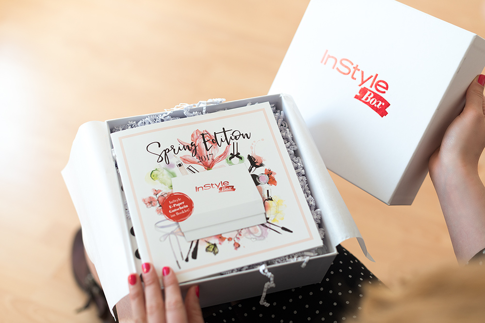 andysparkles Beautyblogger Influencer InStyle Box
