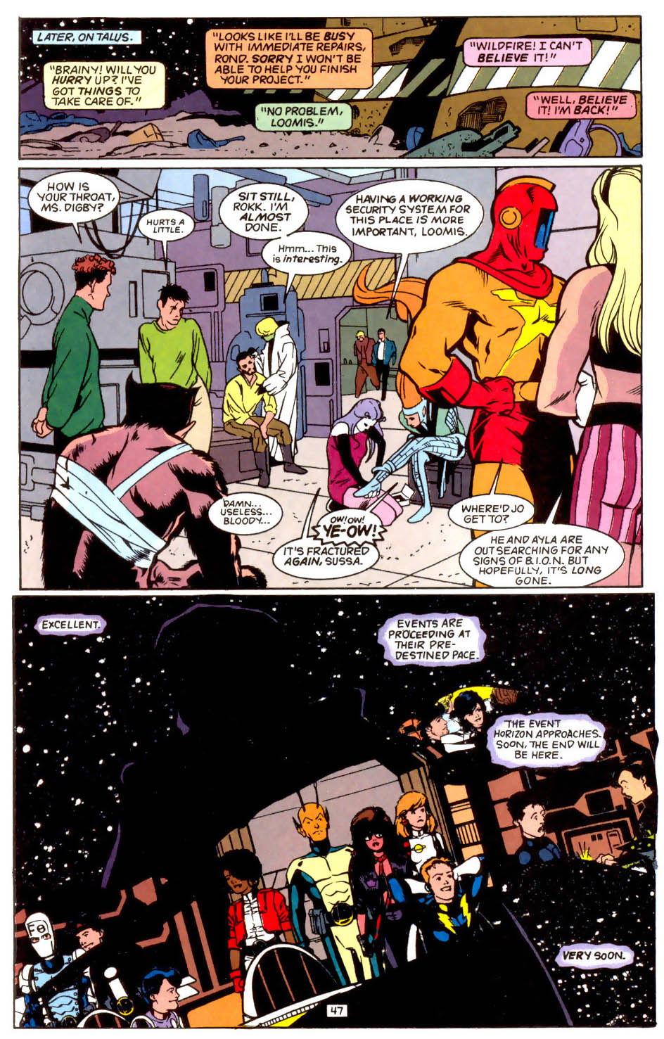 Legion of Super-Heroes (1989) 50 Page 47