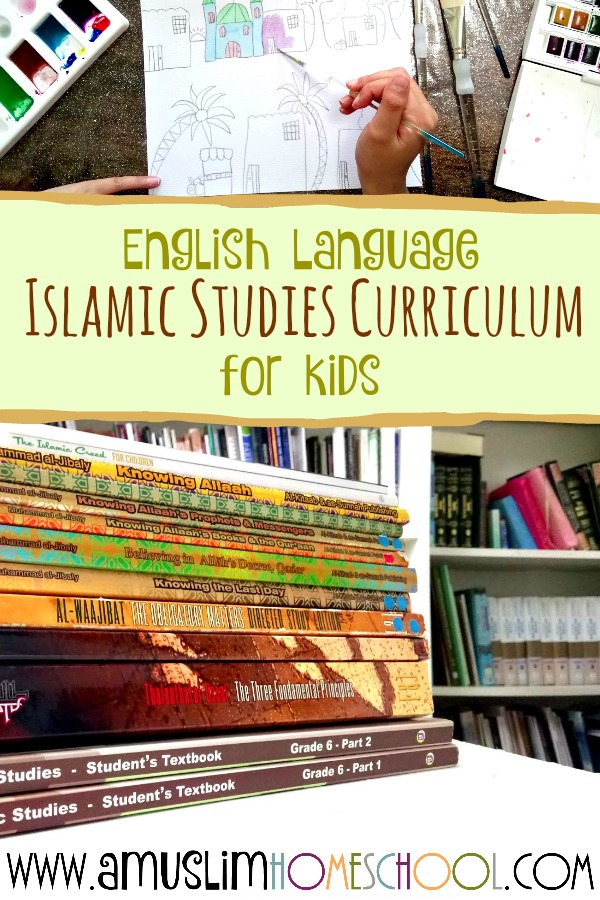 Islamic Studies curriculum ideas for kids