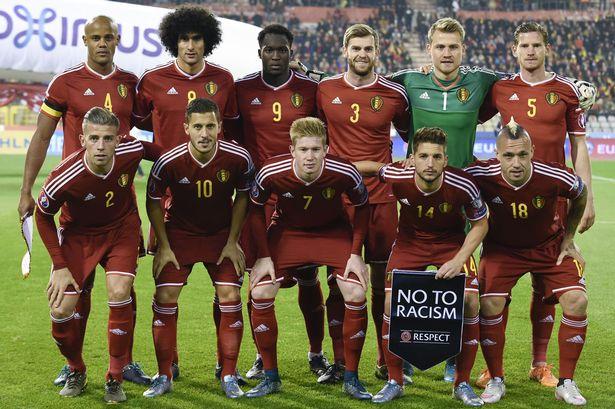 Skuad Resmi EURO 2016 Belgia