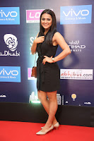 Actress Shraddha Srinath Stills in Black Short Dress at SIIMA Short Film Awards 2017 .COM 0027.JPG