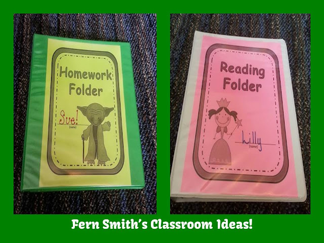Fern Smith's Classroom ideas Goldilocks and the Three Bears Themed Daily Work Folder Covers for Elementary Teachers at TeacherspayTeachers.