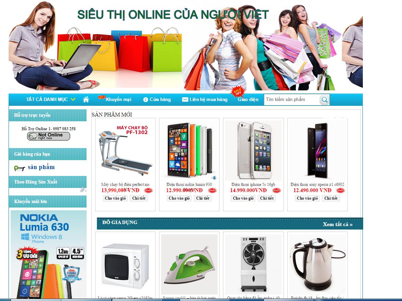 Chia sẻ Template shop bán hàng blogspot đẹp chuẩn SEO