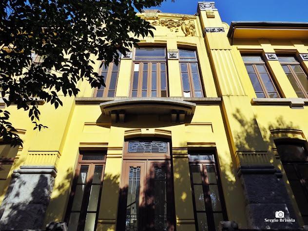 Vista de parte da fachada do Colégio Campos Salles - Museu Manabu Mabe - Liberdade - São Paulo