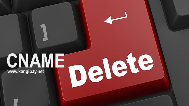 Mengembalikan CNAME Blog yang tidak sengaja ke hapus