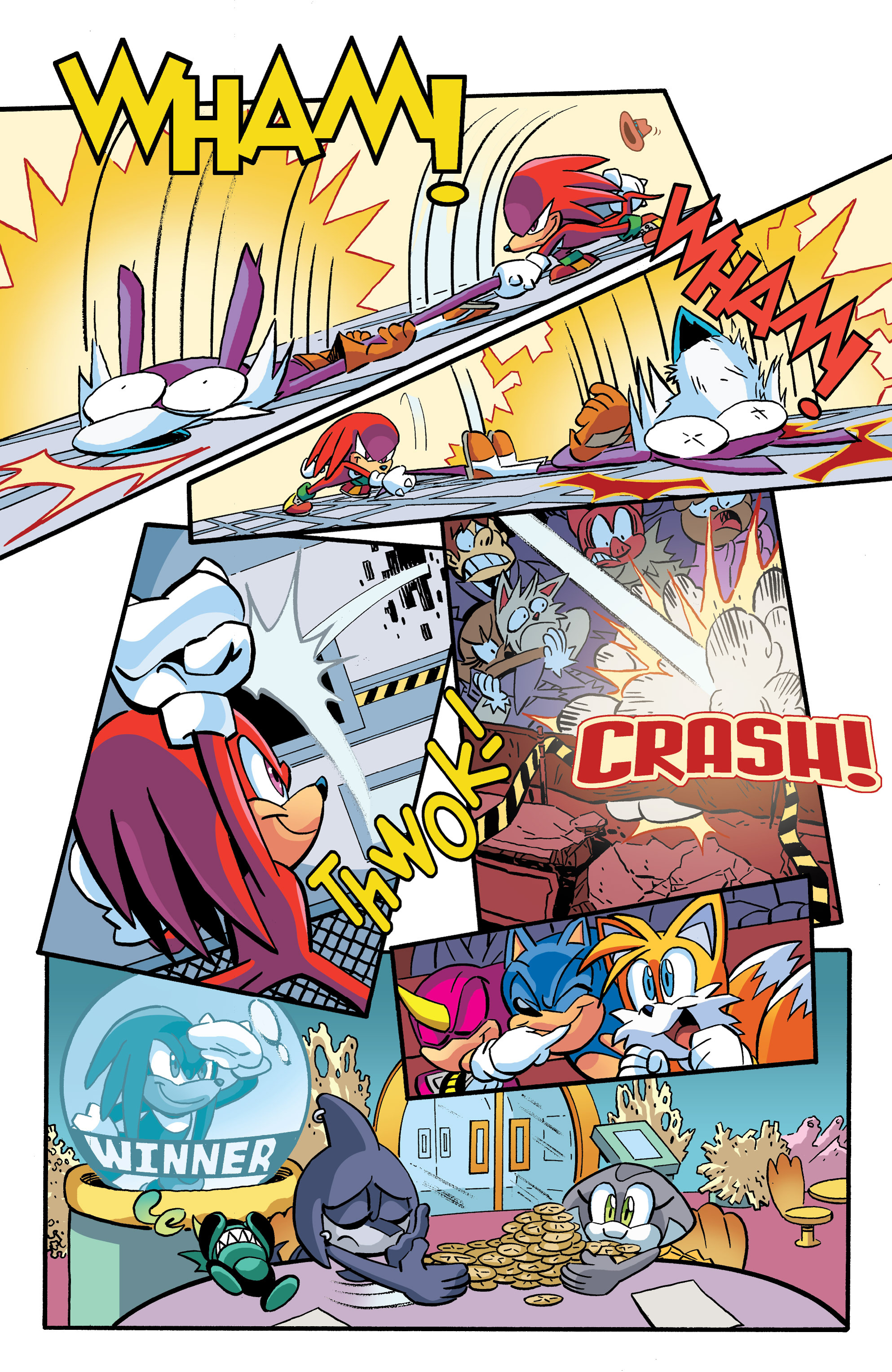 Read online Sonic The Hedgehog comic -  Issue #270 - 19