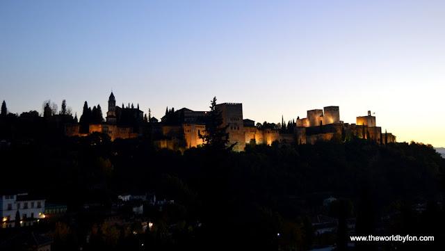 Alhambra, o monumento mais visitado da Espanha - Granada