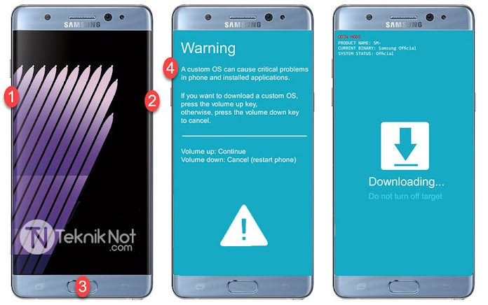 Samsung Galaxy A7 2016 Root Yapma, TWRP Yükleme