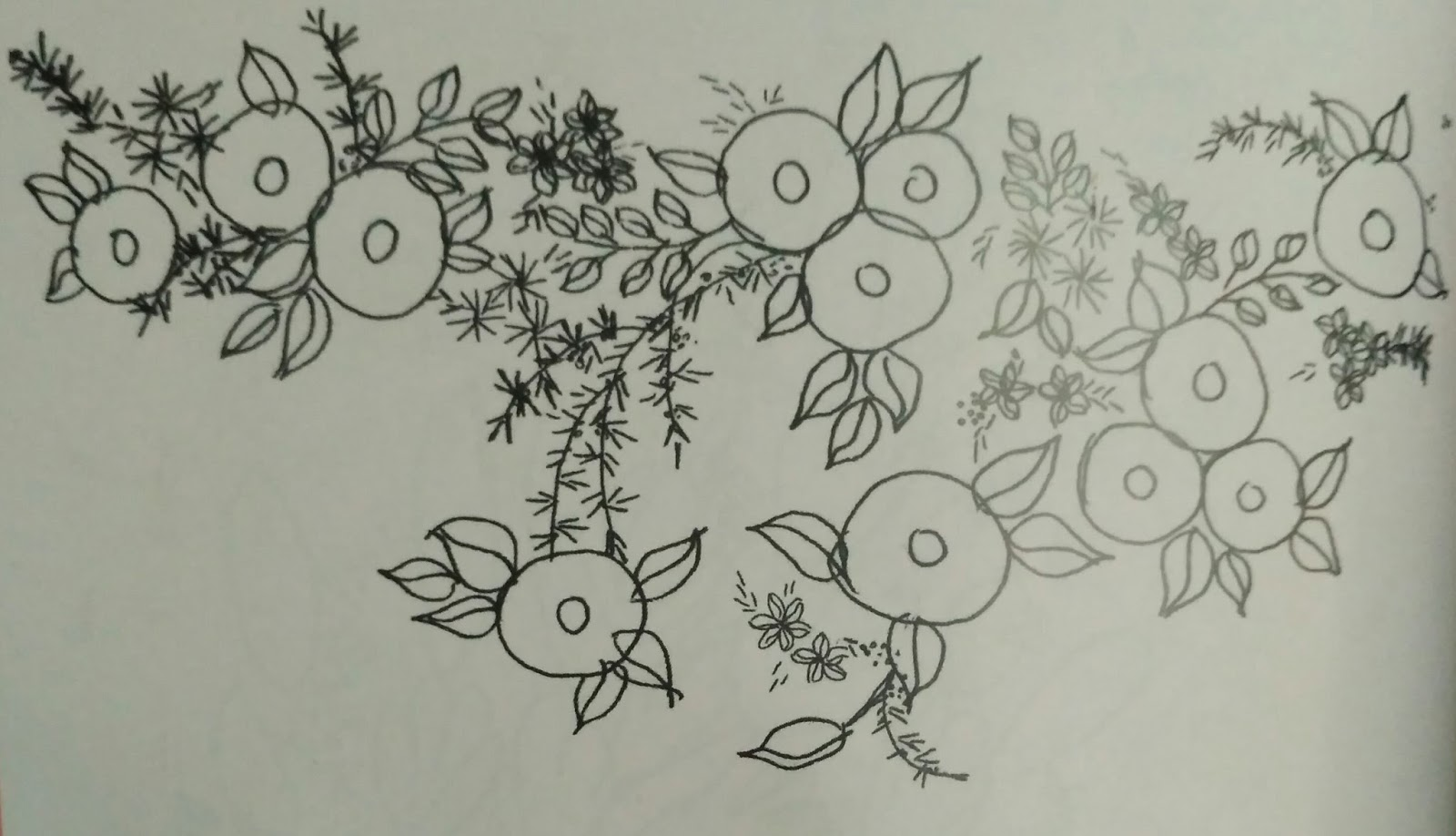 Pola Sulaman Bunga  Tutorial Sulam Pita