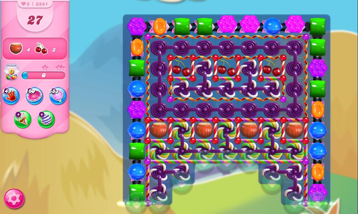Candy Crush Saga level 6281
