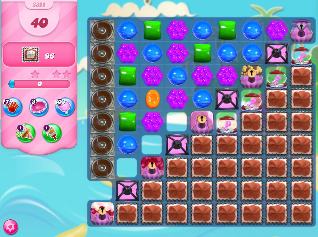 Candy Crush Saga level 3395