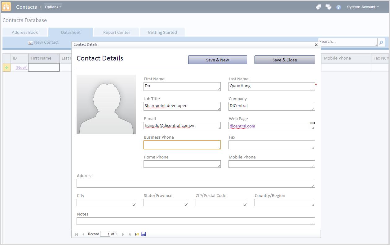 Oracle Database Administrator Sample Resume | ResumePower