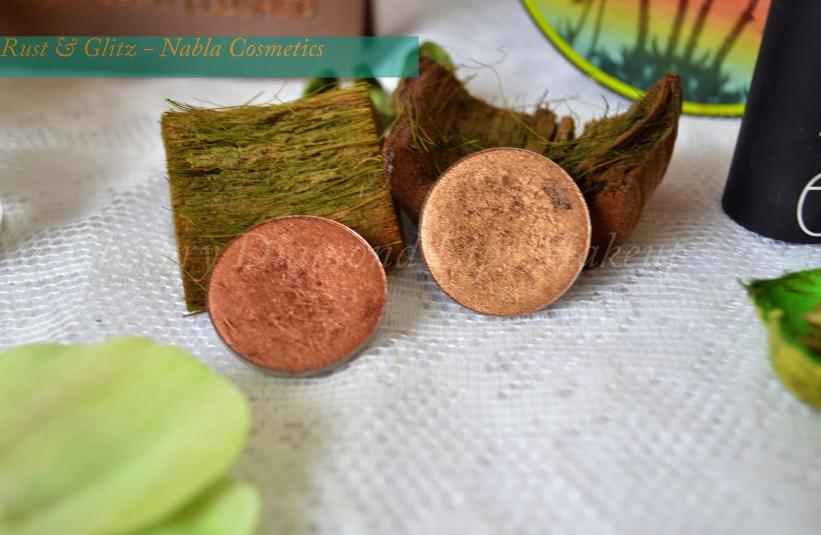 Rust & Glitz - Nabla Cosmetics