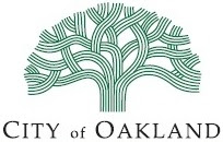 City of Oakland logo.