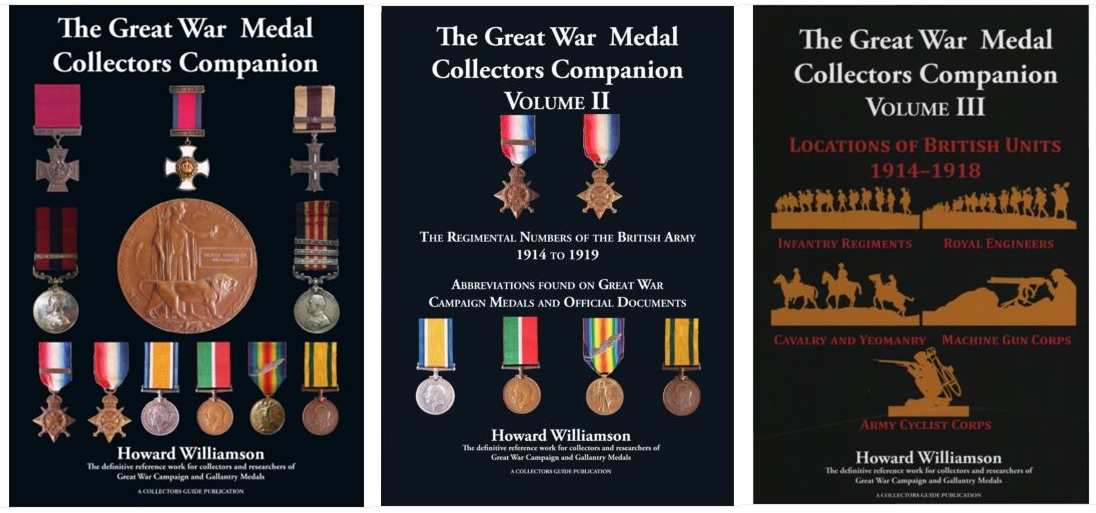 British Army Medals: The Great War Medal Collector's Companion