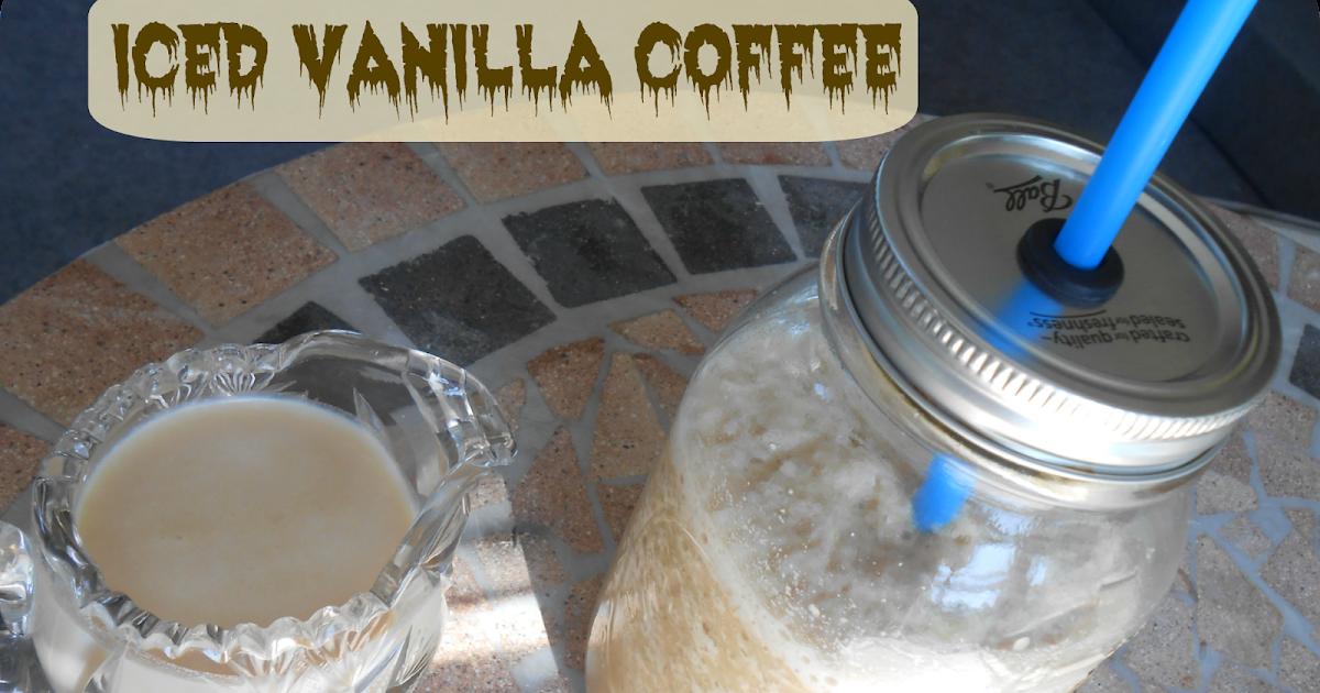 The Better Baker Iced Vanilla Coffee