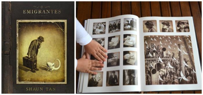 libro juvenil, novela grafica emigrantes de shaun tan
