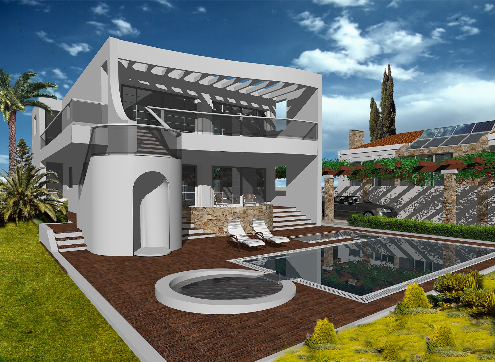 New Home Designs Latest.: Beautiful Modern Homes Latest