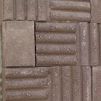 Block macizo estampado tipo Corrugado