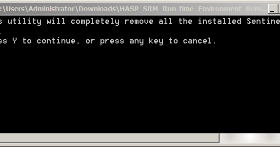 Hasp srm runtime environment download