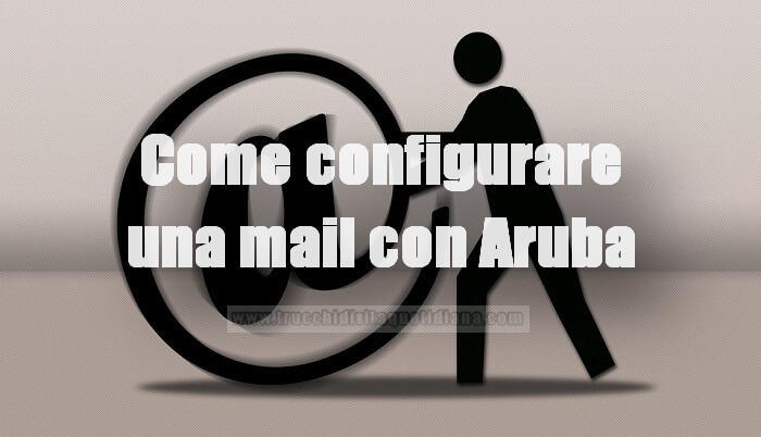 configurare mail aruba