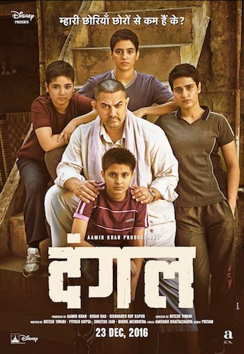 Dangal 2016 Hindi DVDRip Full Movie 850MB NEW
