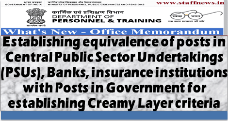 obc-reservation-creamy-layer-equivalance-bank-psu-posts