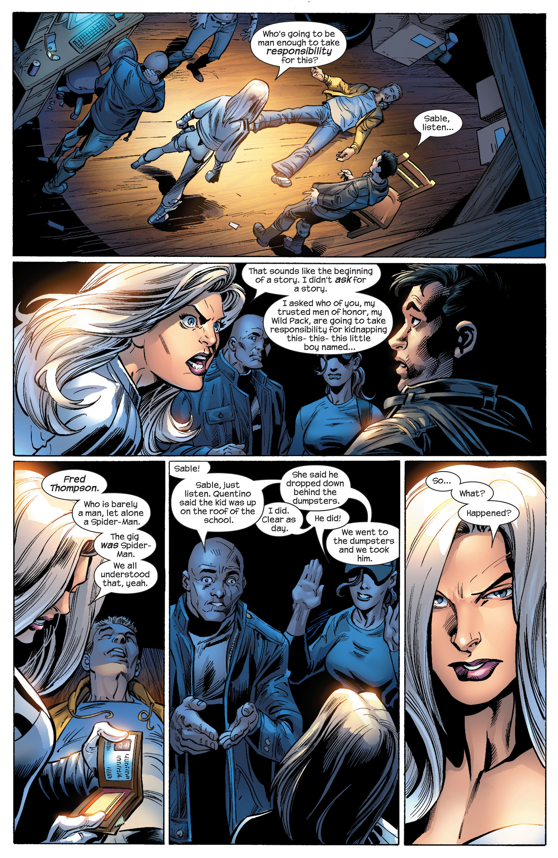 Read online Ultimate Spider-Man (2000) comic -  Issue #87 - 6