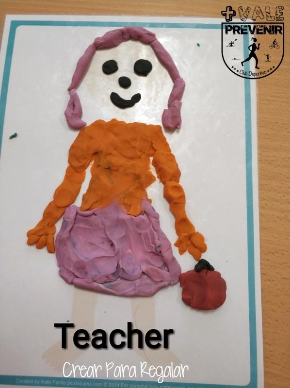 teacher plastilina