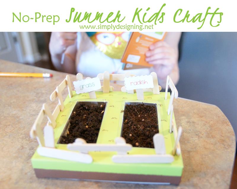No-Prep Summer Kids Crafts 15