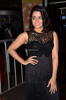 Wamiqa Gabbi in a sleeveless Black Designer Transparent Gown at 64th Jio Filmfare Awards South ~  Exclusive 004.JPG