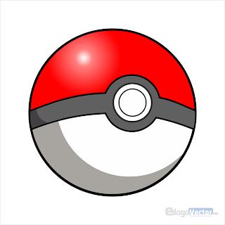 PokeBall Pokemon Logo vector (.cdr)