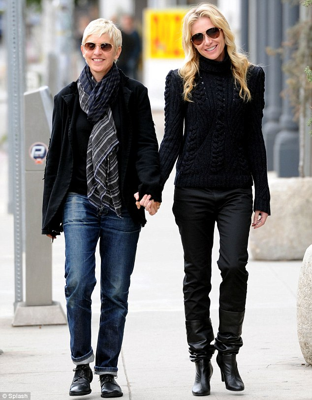 Hot Wheels Ellen Degeneres And Portia Arrive In Style For A Date At
