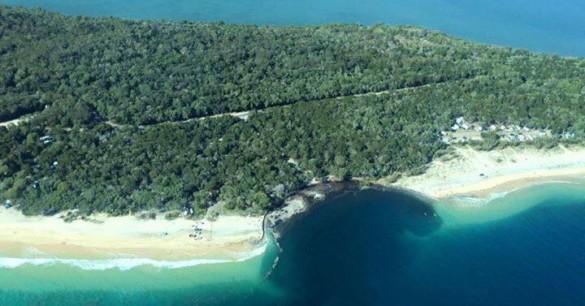 Pantai Ini Secara Misterius Menghilang Ditelan Bumi
