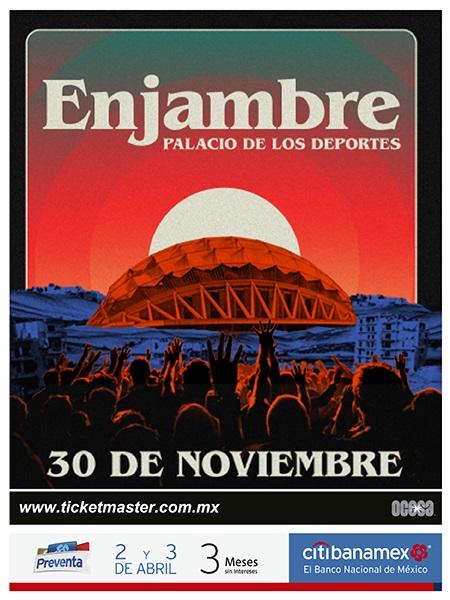 EnPOPados: Enjambre llegará a la Ciudad de México  // #EnPOPados