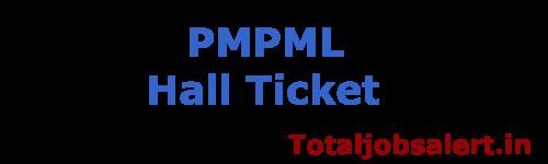 PMPML Hall Ticket