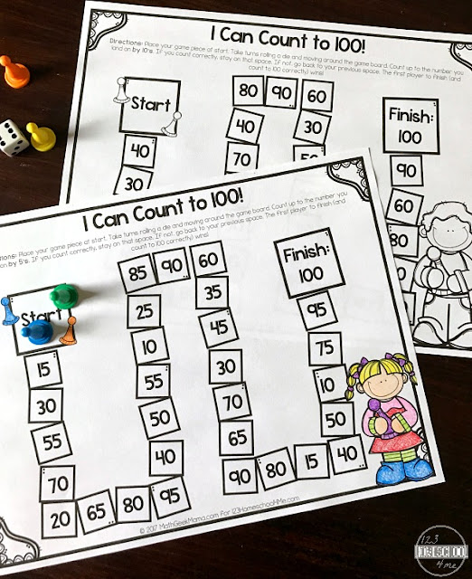 free skip counting game