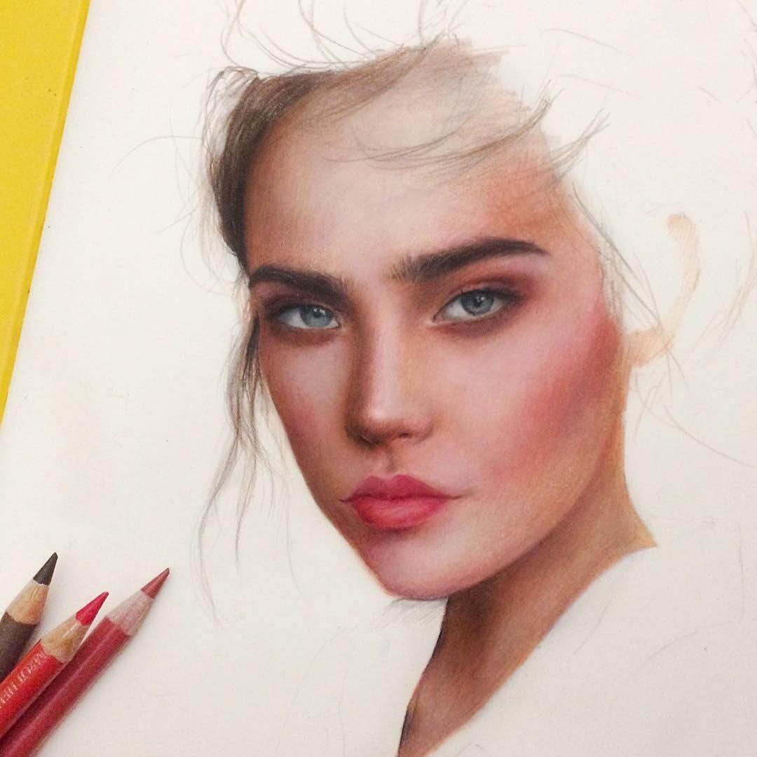 13-Marat-Utamuratov-WIP-Realistic-Portrait-Sketches-www-designstack-co