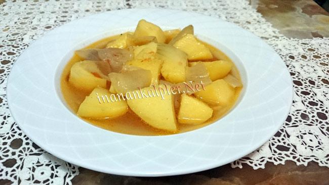 Et Sulu Patates Yemeği